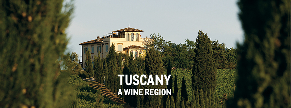 Tuscany a wine region